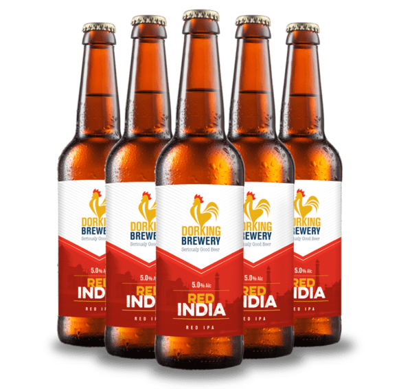 Dorking Brewery Red India ale Surrey