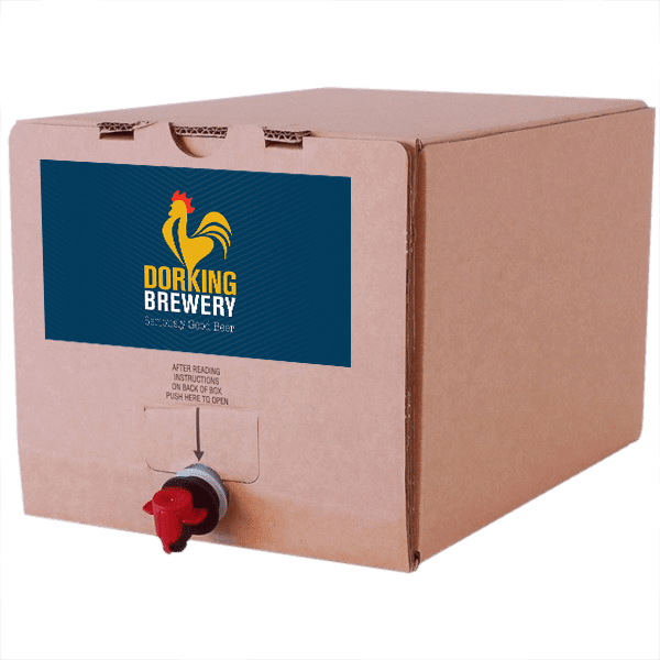 Pilcrow Pale in a box Washington Gold beer in a box